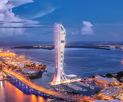 World's Tallest Drop Tower Coming to Miami in 2020! | Theme Park Crazy